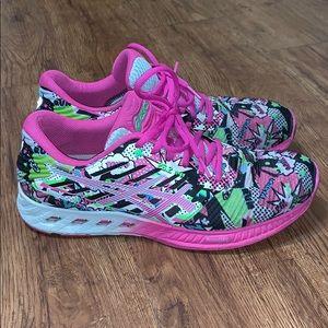 RARE! Women's ASICS FuzeX Multicolor Running Sz 10